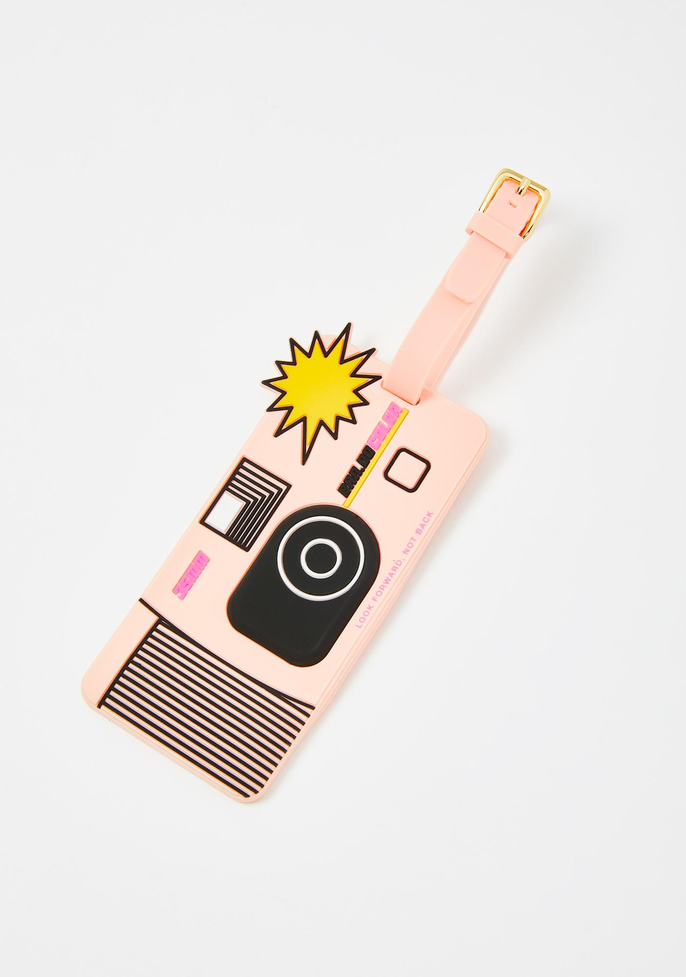 ban.do Disposable Camera Luggage Tag