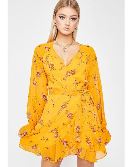 Crazy In Love Floral Dress