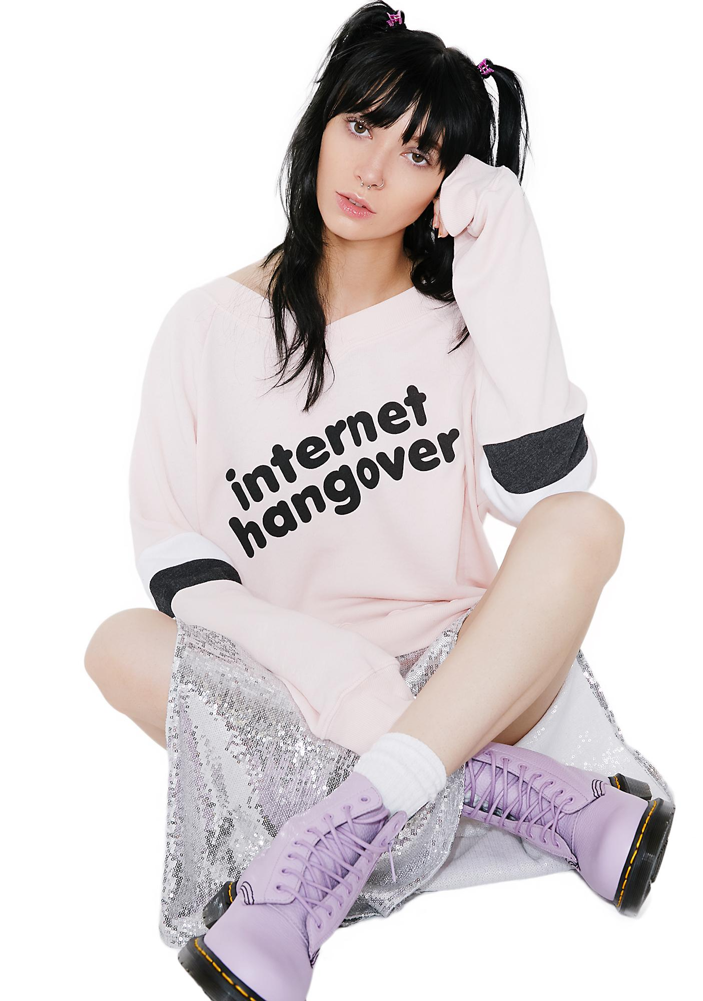 Wildfox Couture Internet Hangover Beach Jumper