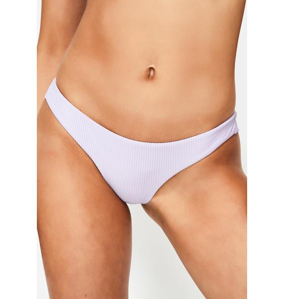 Frankies Bikinis Purple Haze Greer Bikini Bottoms