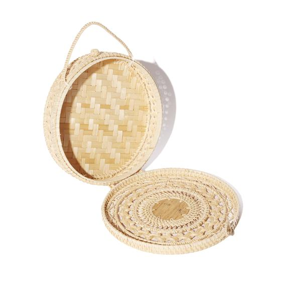 Picnic Party Woven Bag