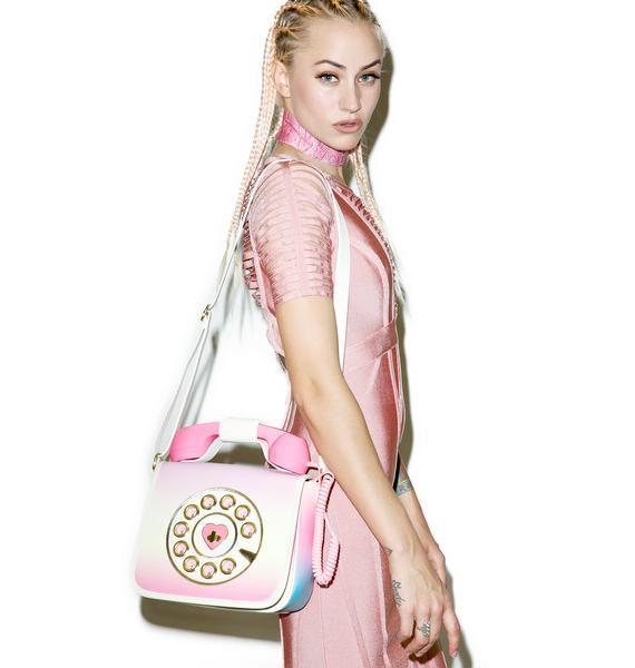 Betsey Johnson Hotline Crossbody Bag