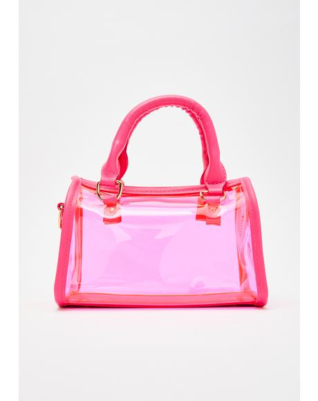 Petty Princess Clear Handbag