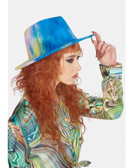 Skies Of Wonder Tie Dye Hat