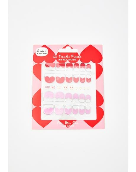 Love Edition Le Touch Finale Mini Nail Stickers