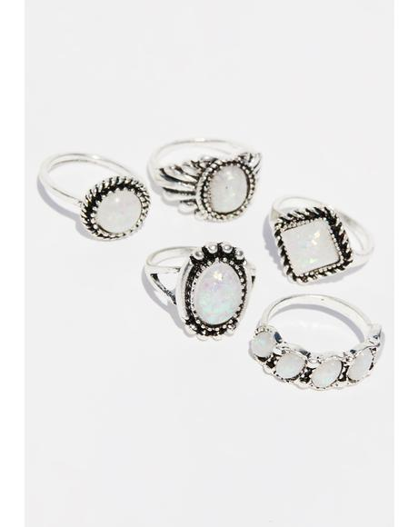 Precious Illusions Ring Set
