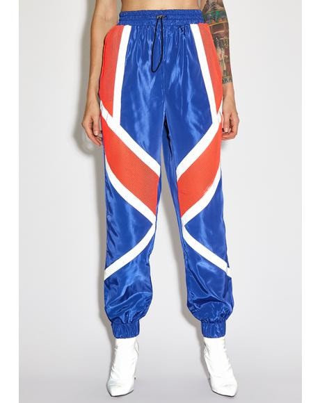 Royal Speedway Shine Reflective Pants