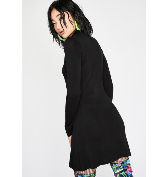 HOROSCOPEZ Aim For Perfection Mini Dress