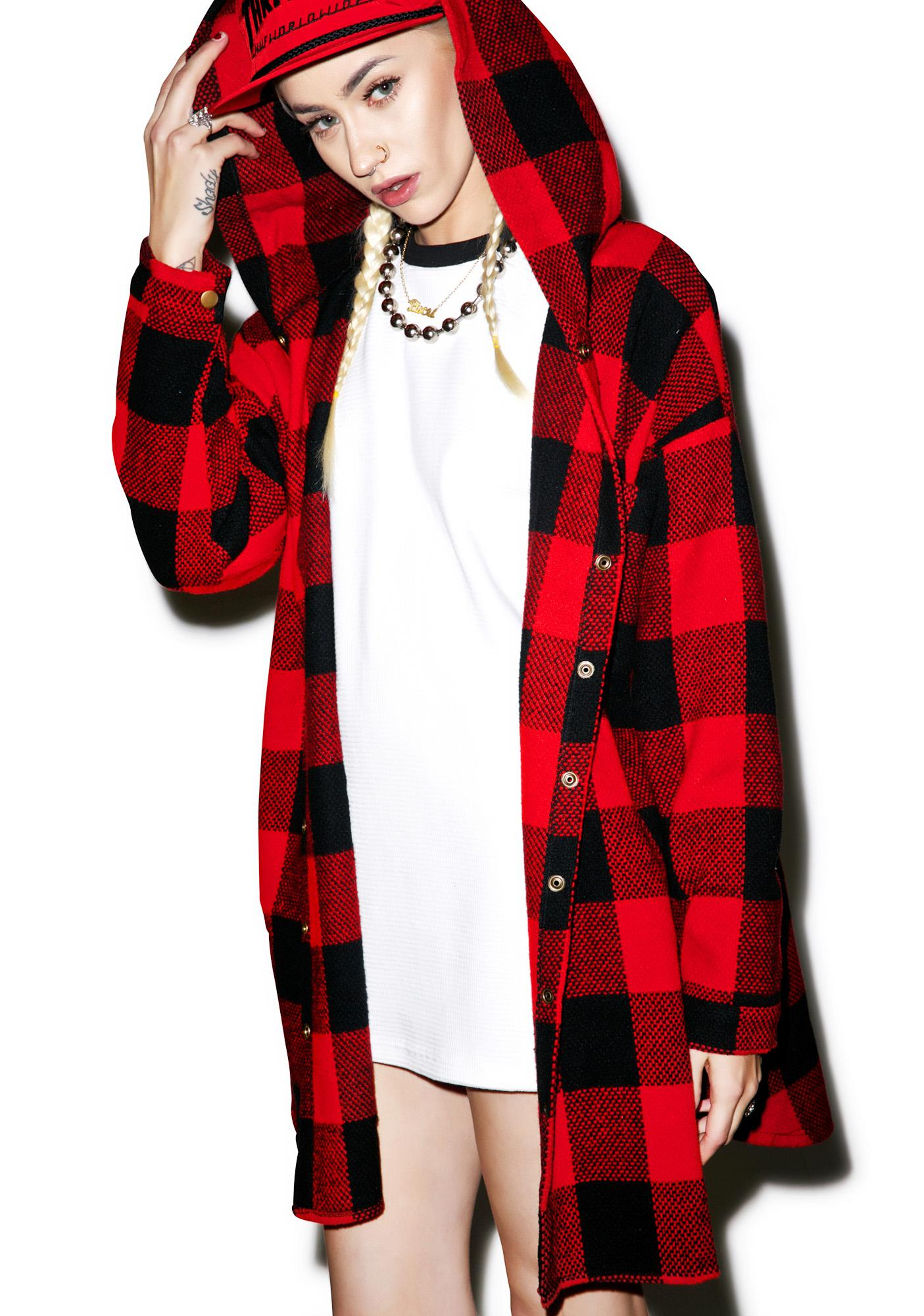 Hunter Hooded Flannel