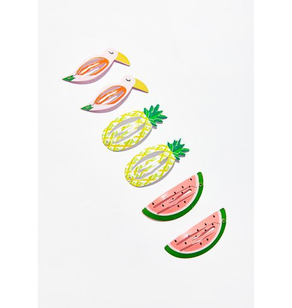Forbidden Fruit Clip Set