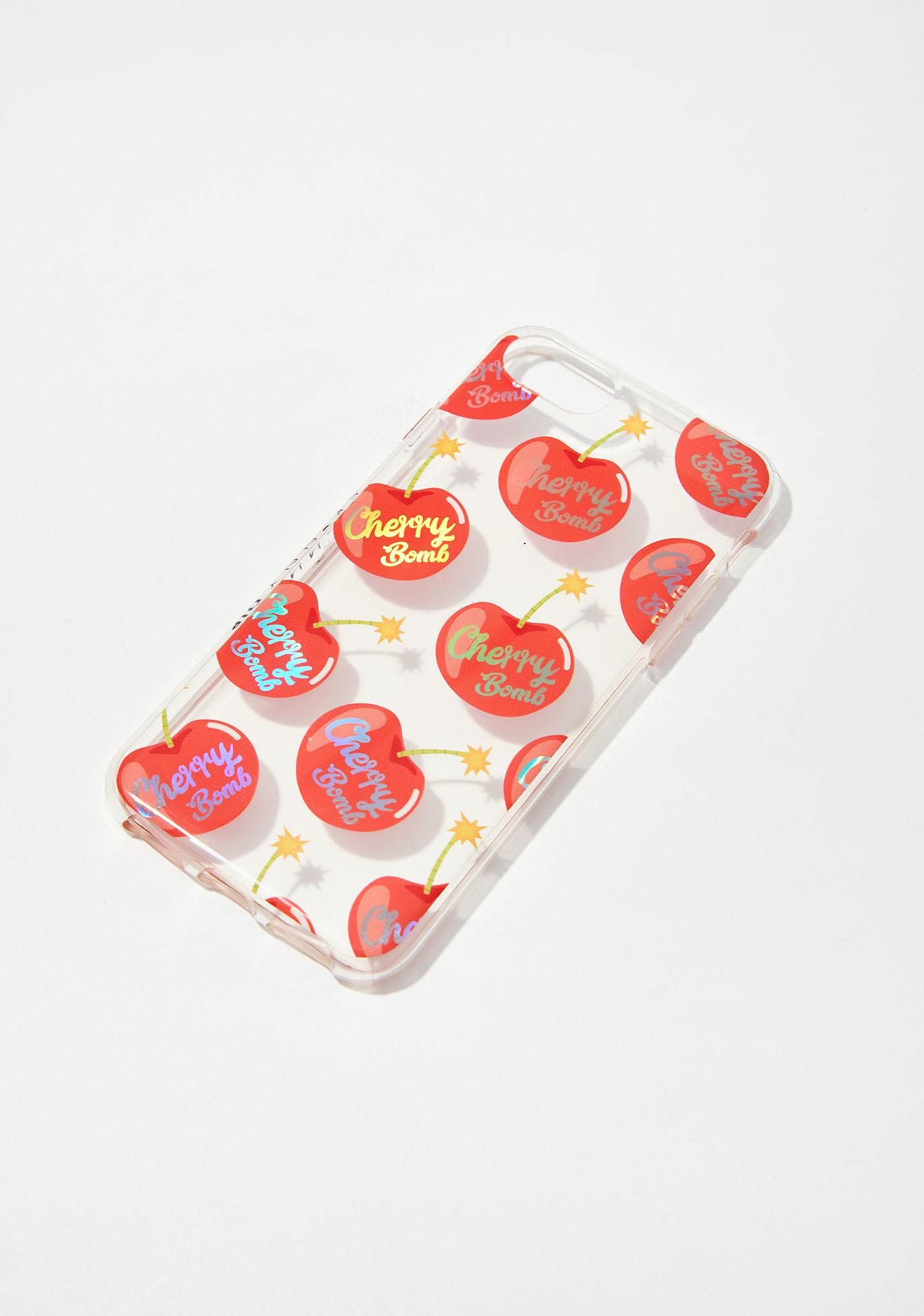 Skinnydip Cherry Bomb iPhone Case
