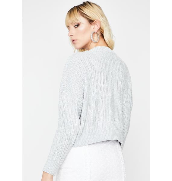 Icy Hey Angel Knit Sweater