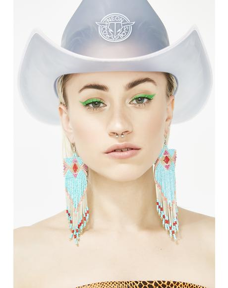 Bossy Posse Fringe Earrings