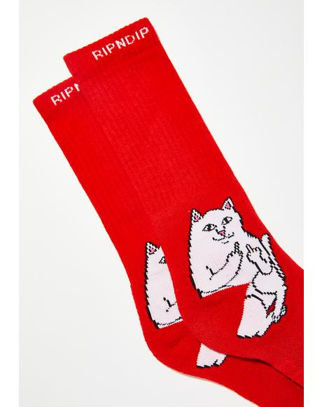 Lit Lord Nermal Socks