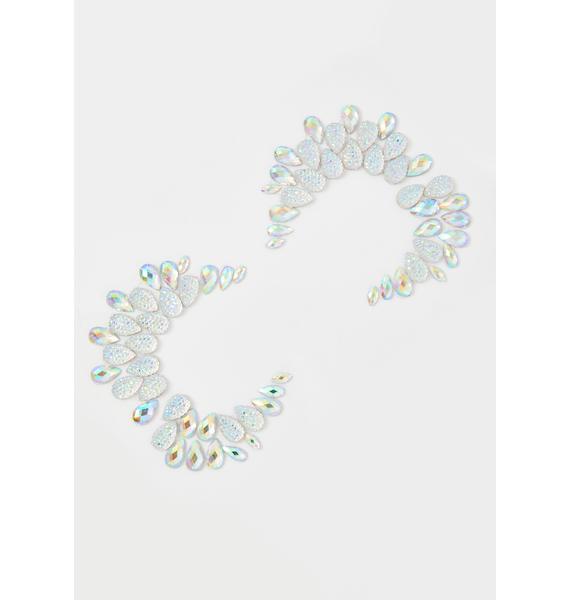 SHRINE Crystal Diamond Face Jewel