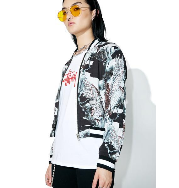 Stussy Falcon Souvenir Jacket