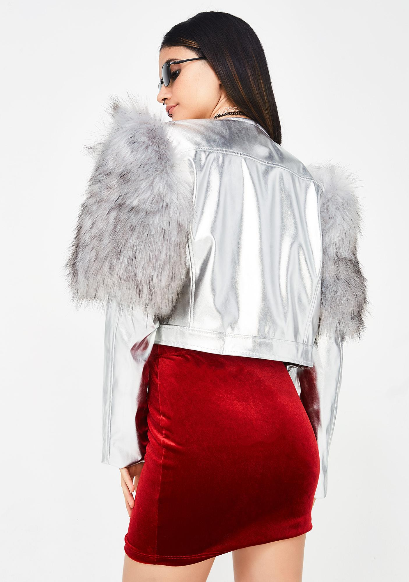 Silver Different Angle Jacket