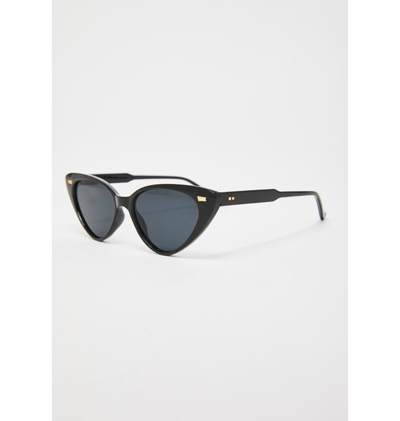 Wicked Sharp Intuition Cat Eye Sunglasses