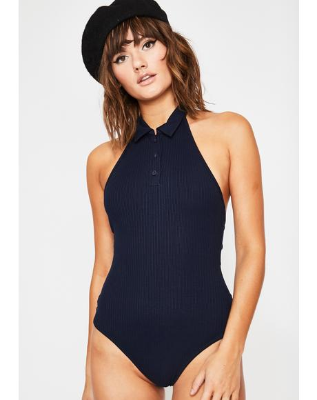 Posh Club Polo Bodysuit