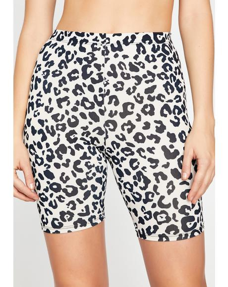 Killer Kitty Biker Shorts