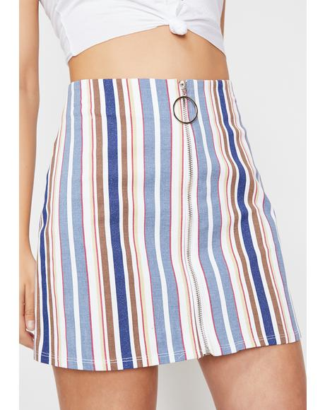 Chasing Sunsets Mini Skirt