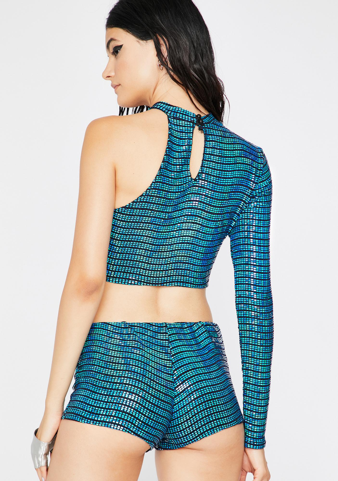 Aqua Hyperspace Sequin Set