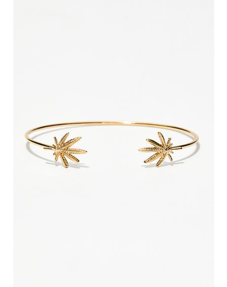 Too Dope Leaf Bangle
