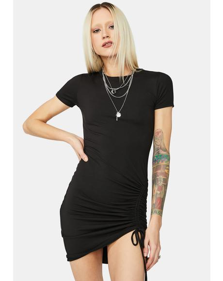 Underneath It All Cinch Mini Dress