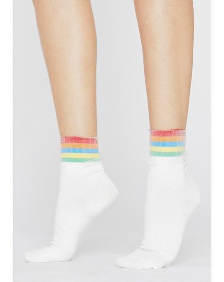 Pure Hazy Hues Ankle Socks