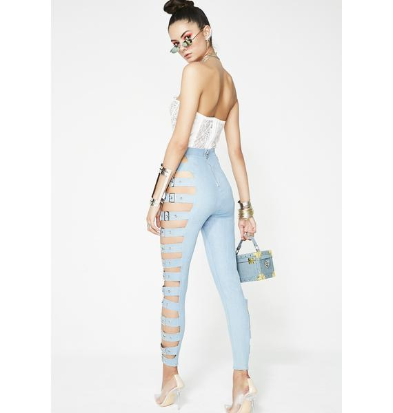 Pay Up Belted Leggings