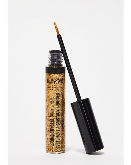 Crystal Gold Liquid Crystal Body Liner
