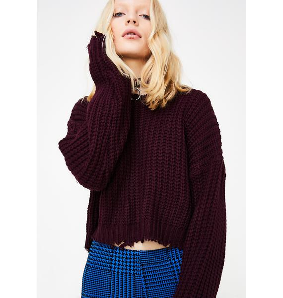 Rehab Chunky Knit Sweater