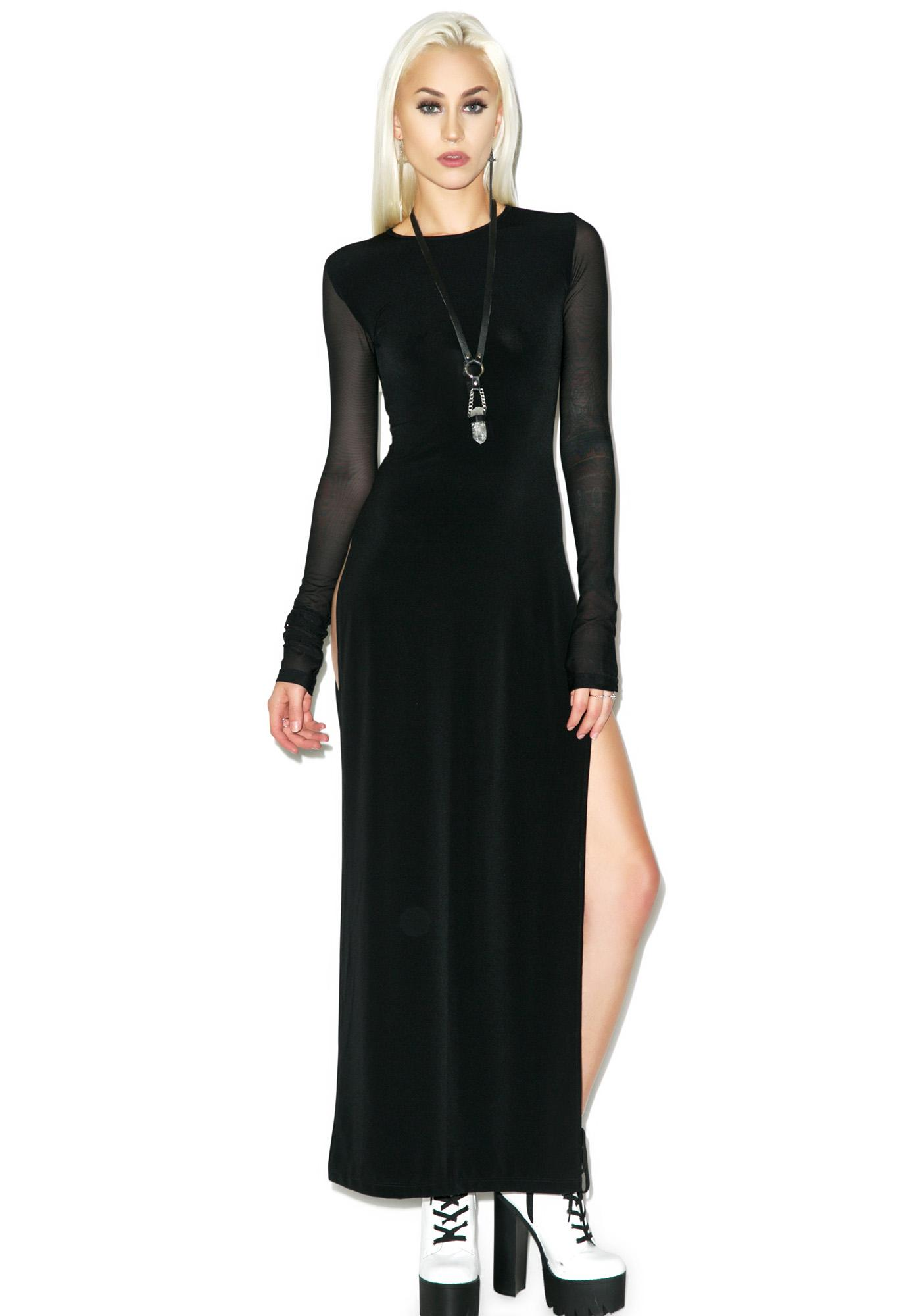 Black Wednesday Black Label Maxi Dress