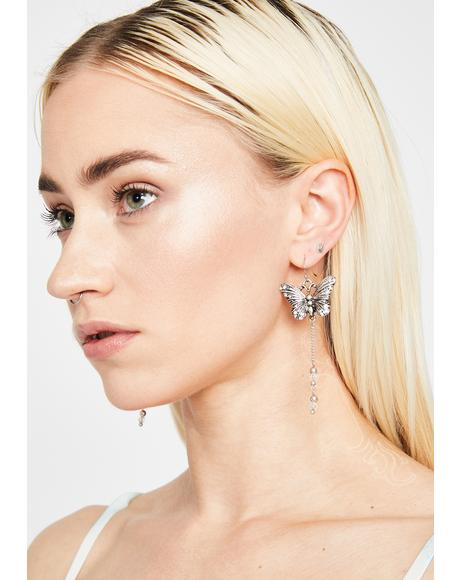 Monarch Magic Drop Earrings