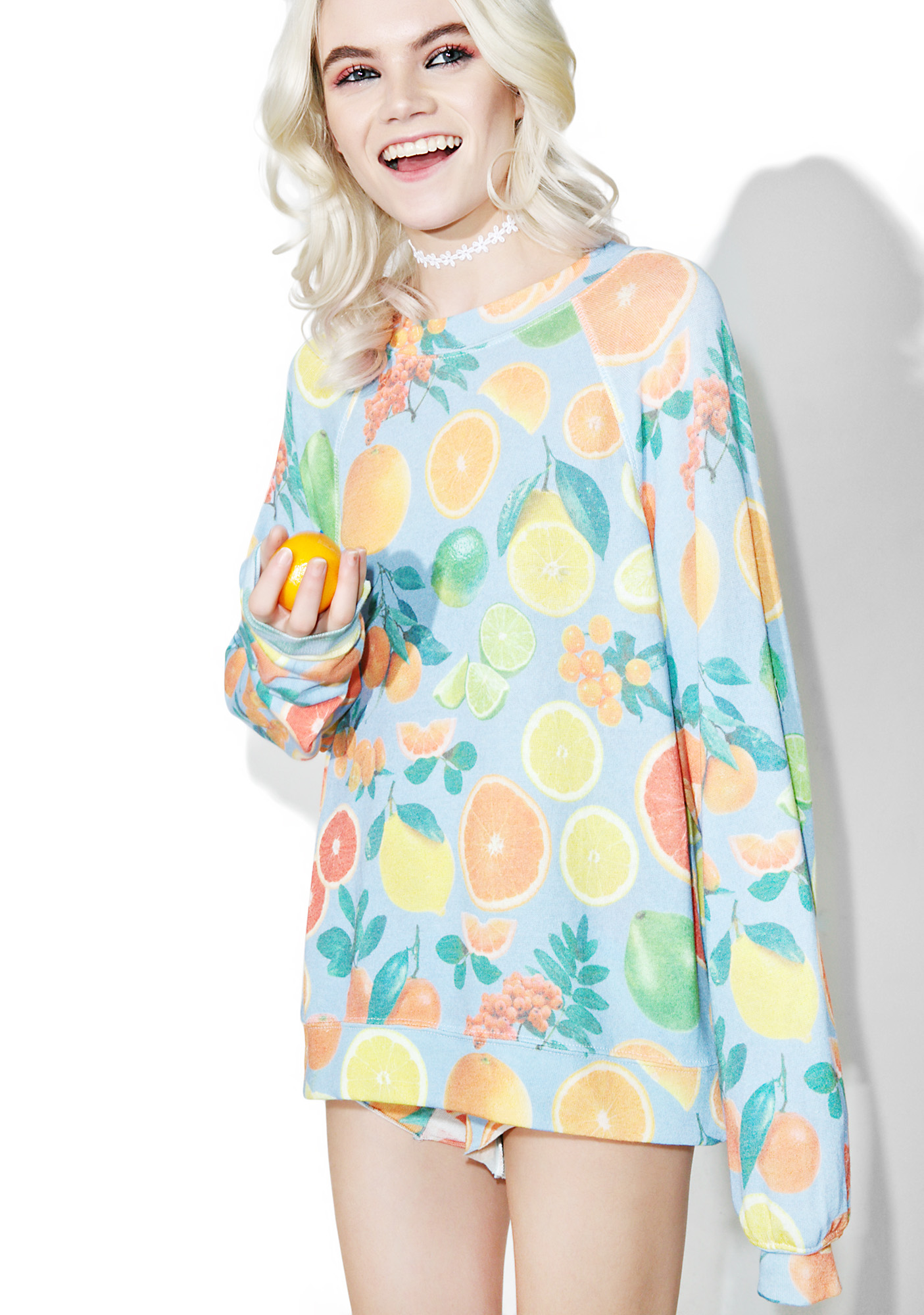 Wildfox Couture Fresh Citrus Sommer's Sweater