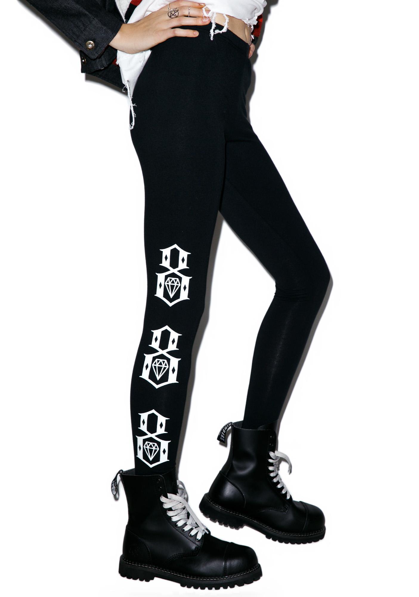 Rebel8 8 Logo Leggings