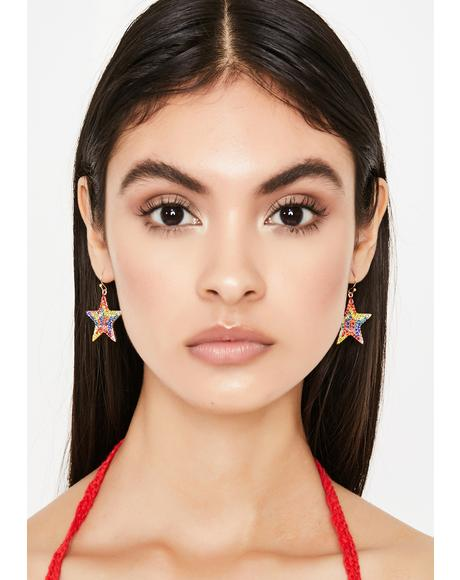 You Wish Star Earrings