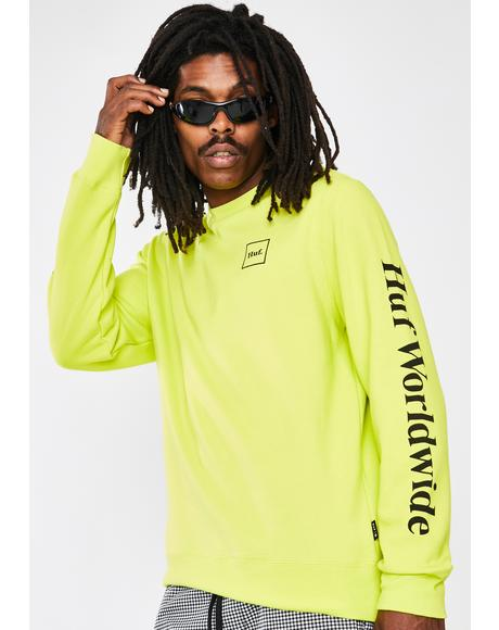 Hot Lime Essentials Domestic Long Sleeve Tee