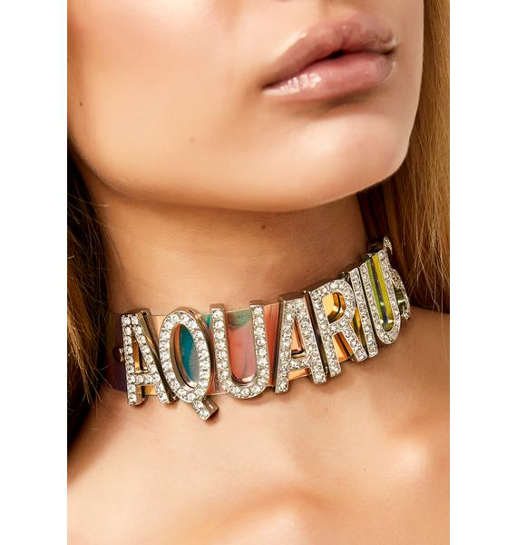Mz. Aquarius Bling Choker
