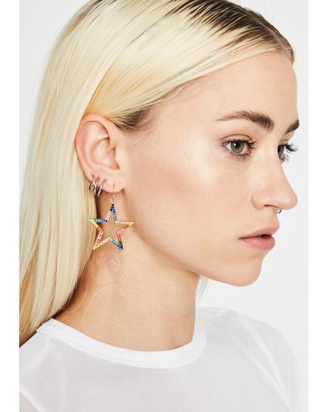 Stellar Catch Star Earrings
