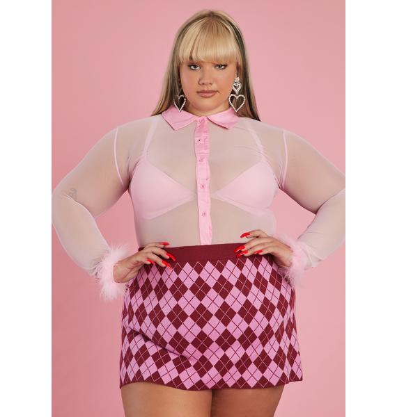 Sugar Thrillz This Cozy Feeling Button Up Blouse