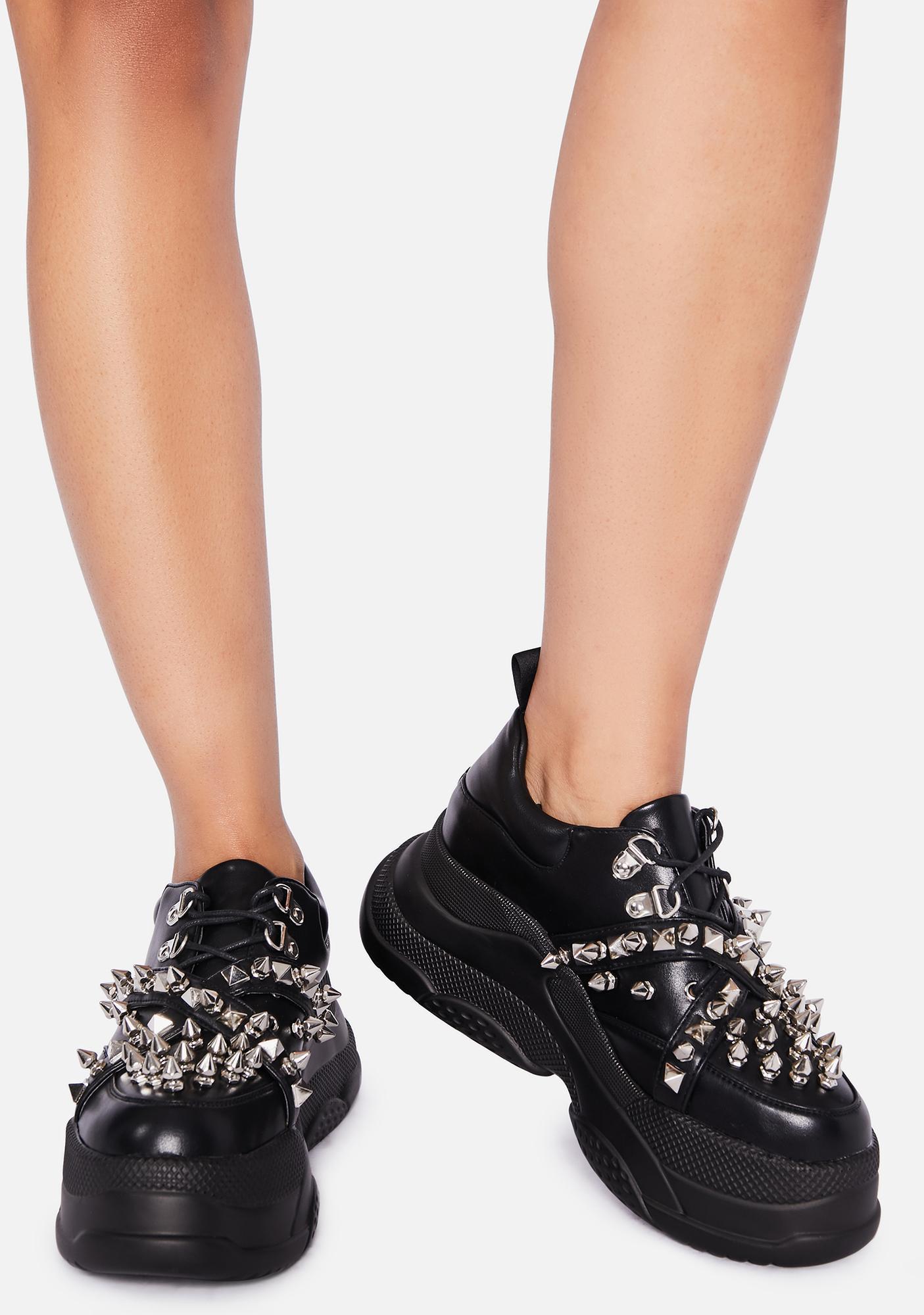 Lamoda Crushin' Hearts Platform Sneakers
