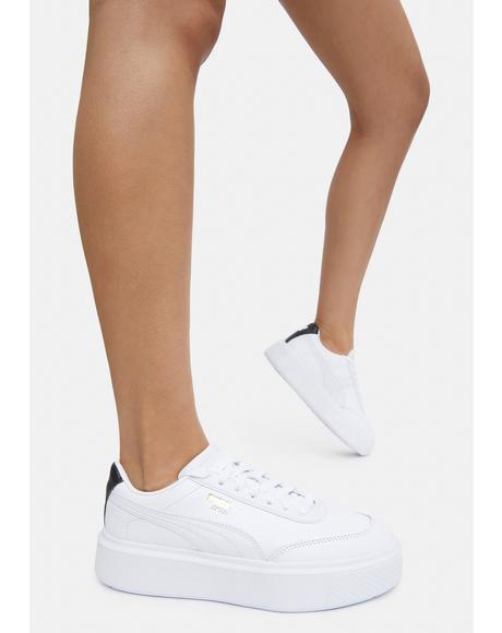 White Oslo Maja Women's Sneakers