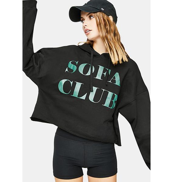 Bailey Rose Black Couch Club Sweatshirt