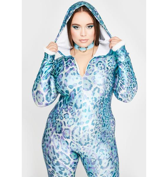 Aqua My Haute Crush Hooded Jumpsuit