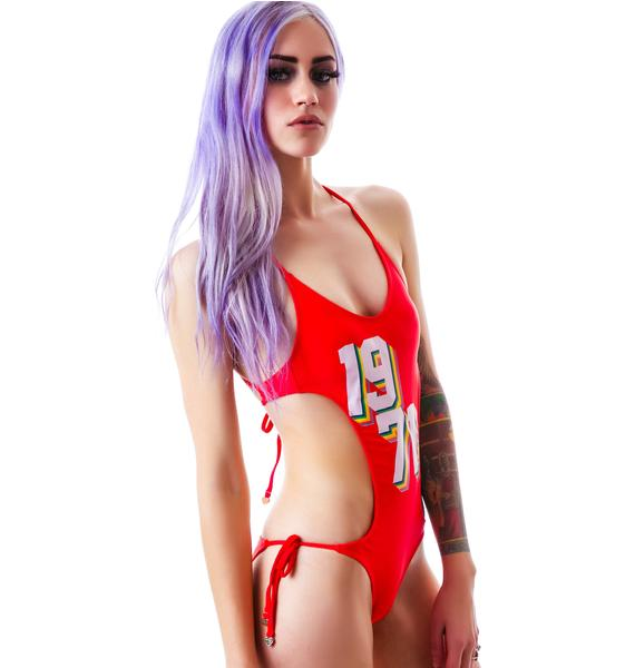 Wildfox Couture Rainbow '71 Monokini
