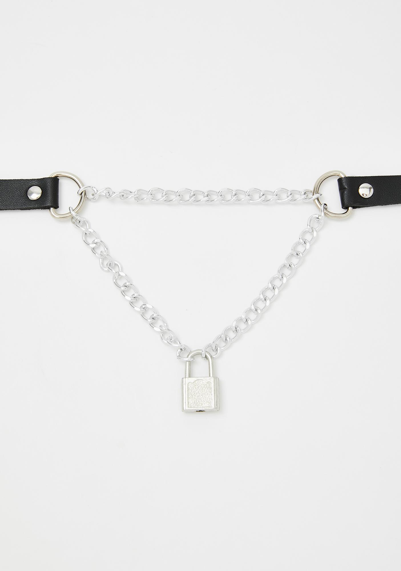 Locked Out Chain Choker