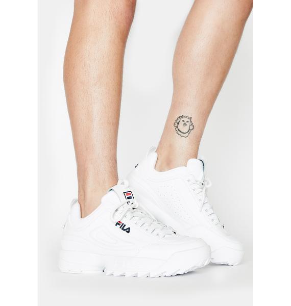 Fila Unisex Disruptor 2 Premium Sneakers