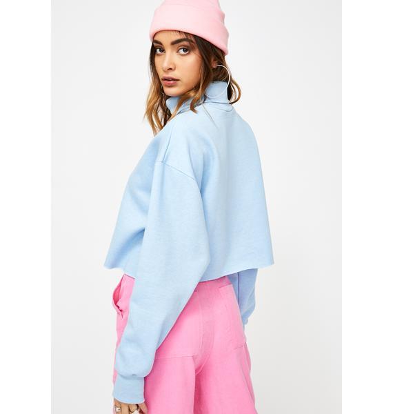 JUNGLECLUB CLOTHING Oversized Flower Jumper