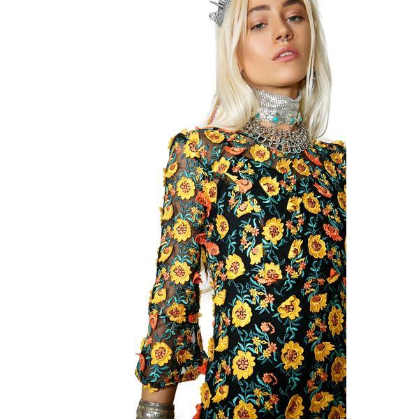 For Love & Lemons Amelia Swing Dress